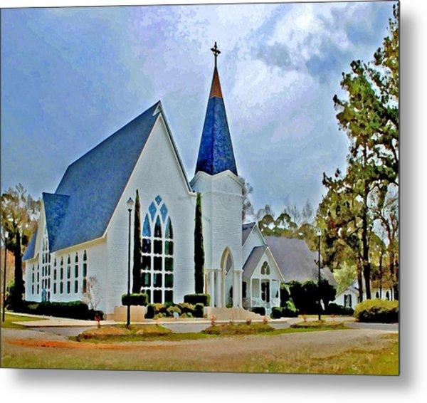 Point Clear Alabama St. Francis Church Metal Print