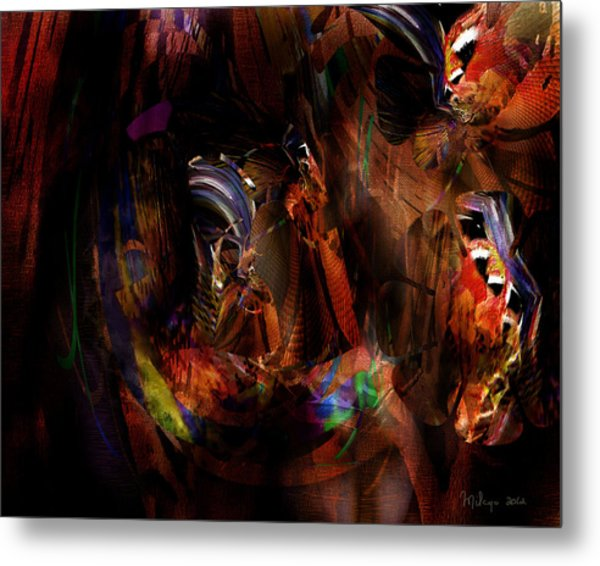 Ponder The Deep Mysteries Of Existence Metal Print