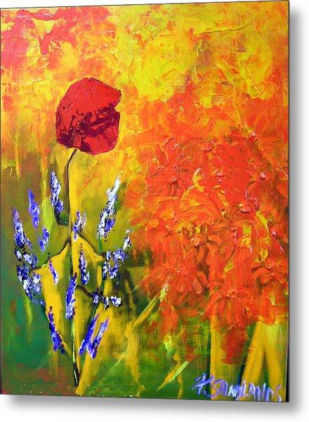 Poppies Metal Print by Paul Sandilands