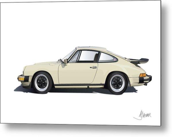 Porsche 911 Carrera Metal Print
