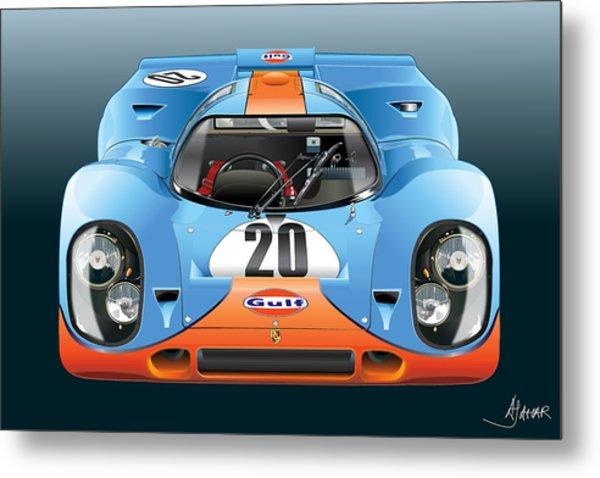Porsche 917k Kurzneck Metal Print