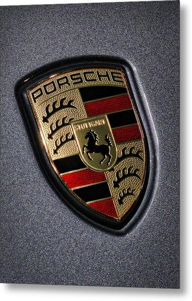 Porsche Metal Print