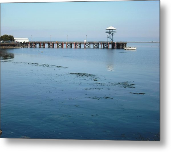 Port Angeles Pier Metal Print