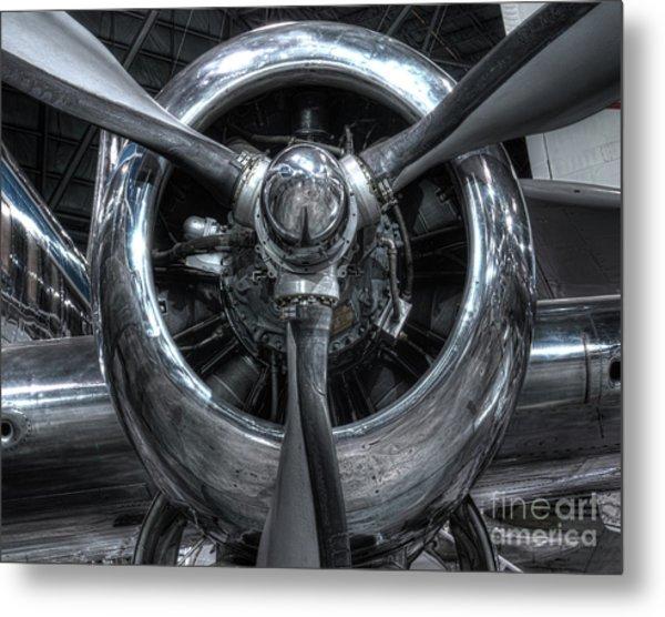 Pratt And Whitney R-2800 - Douglas Vc-118 The Independence  Metal Print