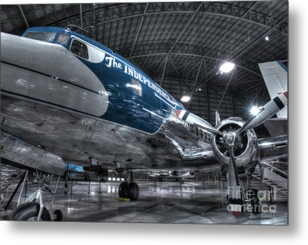 Presidential Aircraft - Douglas Vc-118 The Independence  Metal Print