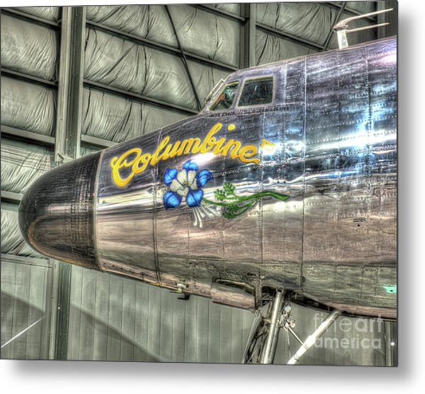 Presidential Aircraft - Lockheed Vc-121e Columbine Metal Print
