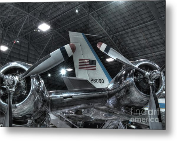 Presidential Aircraft - The Independence, Douglas Vc-118 And Sam 26000  Metal Print