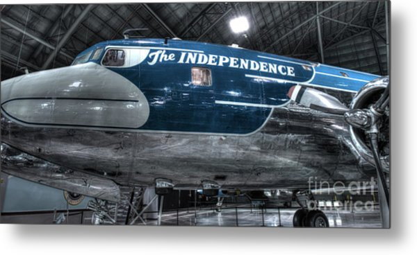 Presidential Aircraft - The Independence, Douglas Vc-118  Metal Print