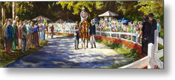 Promenade Metal Print by Carolyn Epperly