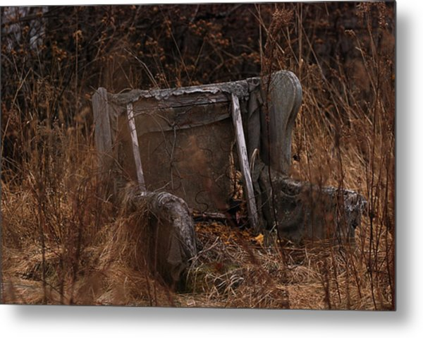 Putting Down Roots Metal Print