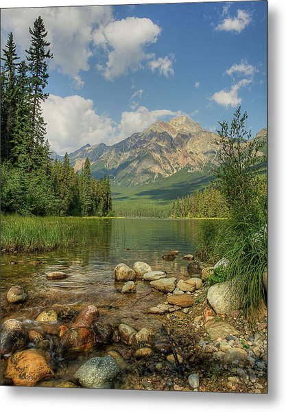 Pyramid Mountain Metal Print