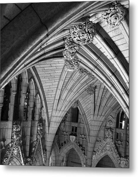 Quebec Parliament Building Metal Print