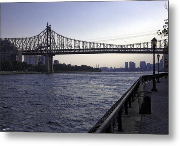 Queensboro Bridge - Manhattan Metal Print
