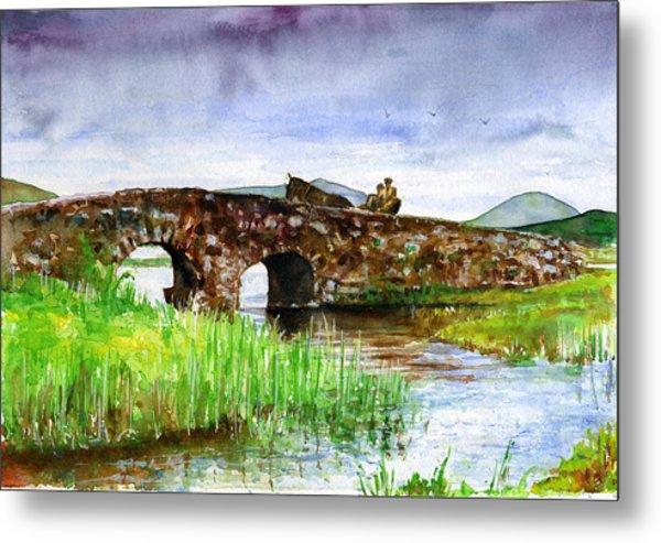 Quiet Man Bridge Ireland Metal Print