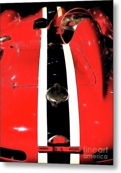 Racing Stripes Metal Print