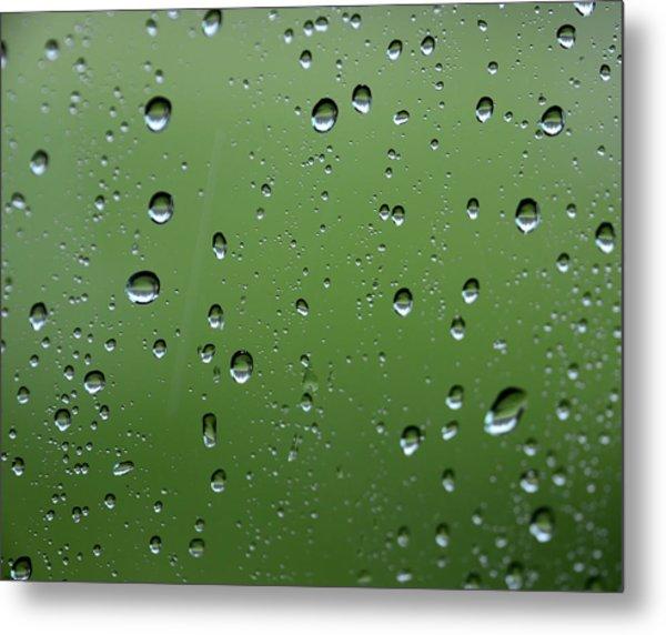 Raindrops  2 Metal Print