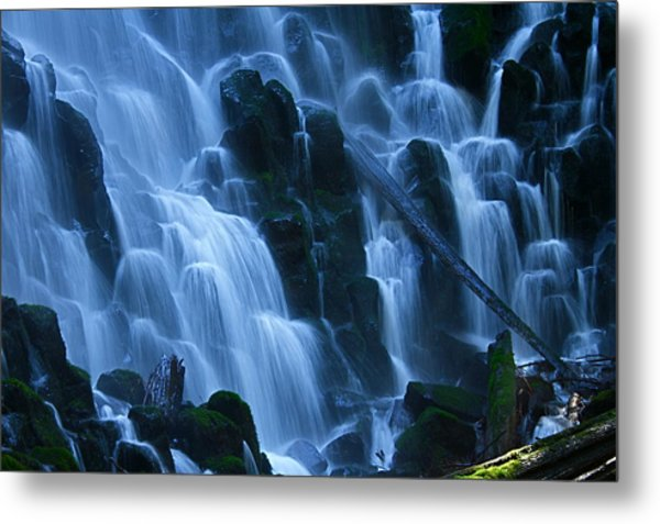 Ramona Falls In Close Metal Print