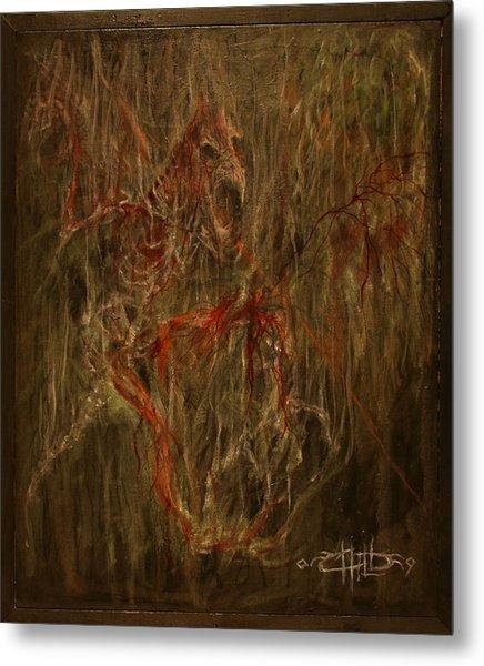Raven Metal Print by Brian Child