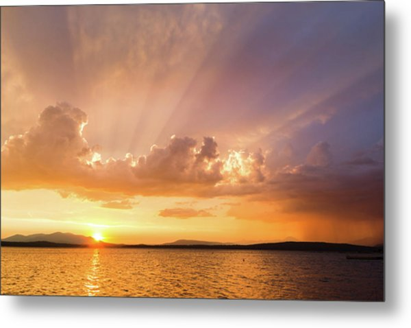 Rays Of Hope Metal Print