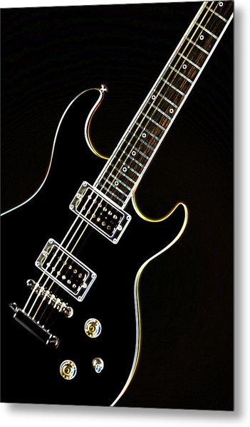 Real Electric Guitar Metal Print
