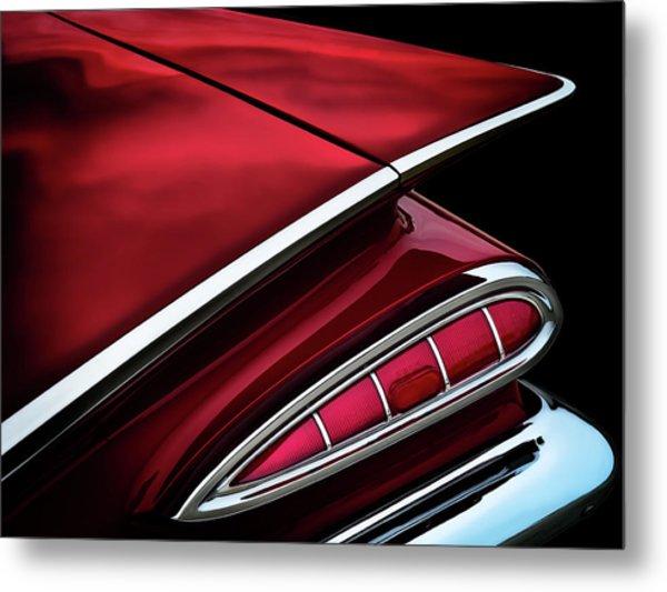 Red Tail Impala Vintage '59 Metal Print