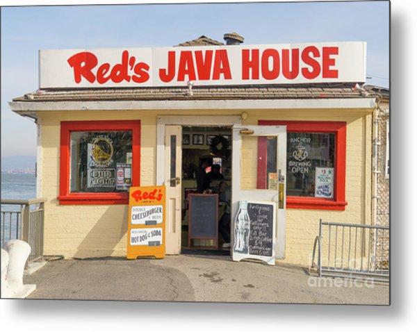 Reds Java House At San Francisco Embarcadero Dsc5759 Metal Print