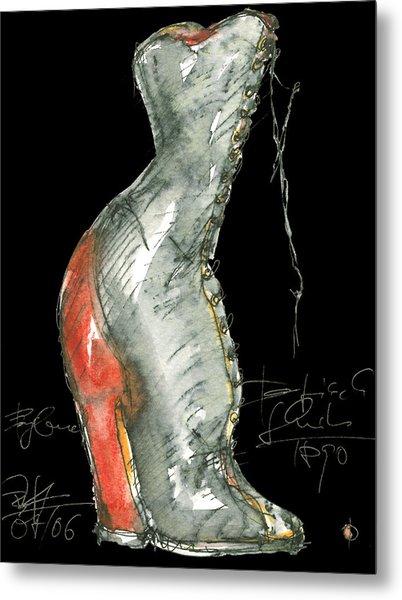 Redshoe Metal Print by Joerg Bernhard Klemmer