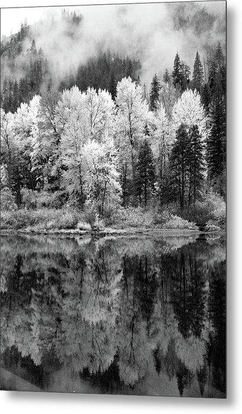 Reflected Glories Metal Print