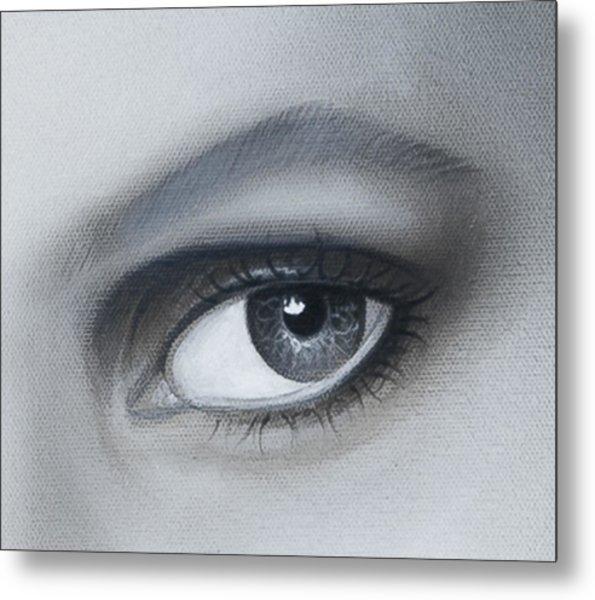 Reflections Eye Metal Print by Joshua South