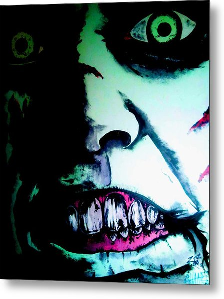 Regan Exorcist Metal Print by Sam Hane