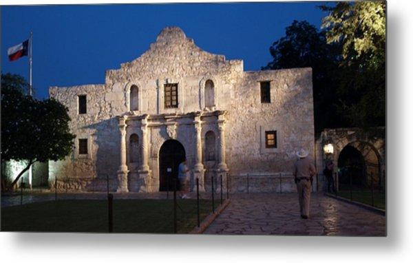 Remember The Alamo Metal Print by Dennis Stein