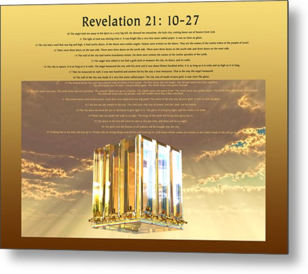 Revelation Twenty-one Metal Print