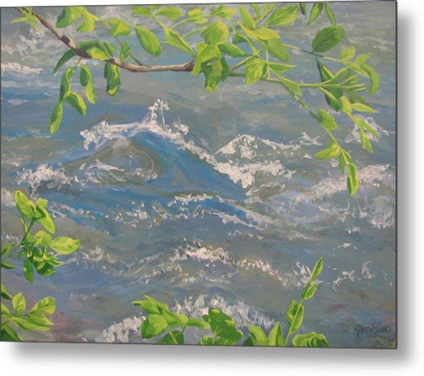 River Spring Metal Print