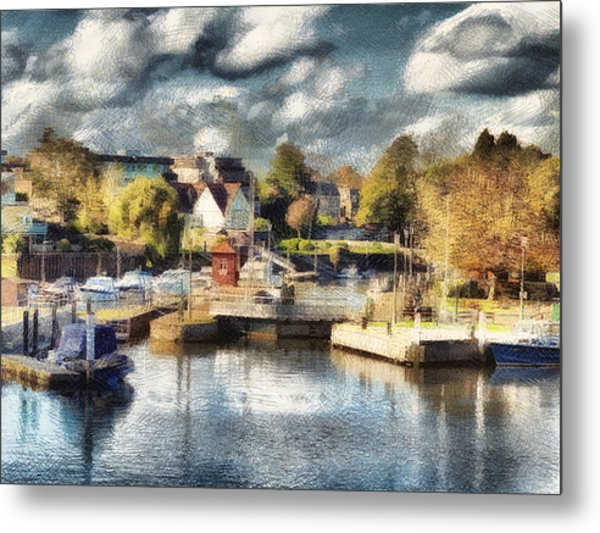 Riverview V Metal Print