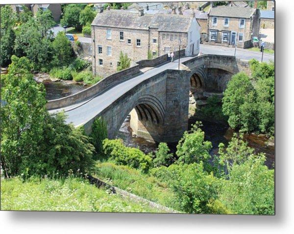 Roadbridge Over The River Tees Metal Print