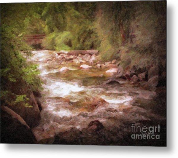 Roaring Fork River Metal Print
