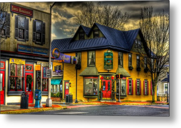 Robbins Nest Restaurant Metal Print by Louis Dallara