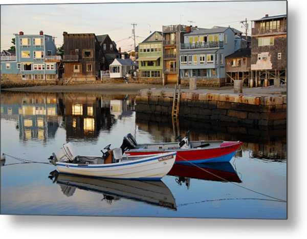 Rockport Boats Metal Print