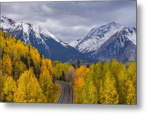 Rocky Mountain Hwy Metal Print