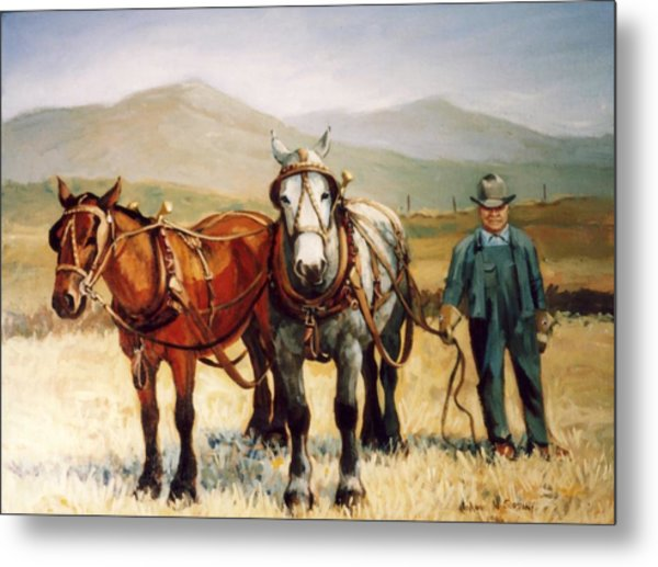 Ron Robison Metal Print by JoAnne Corpany