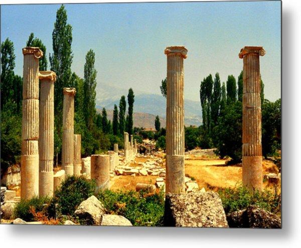 Ruins Of  Aphrodisias Metal Print