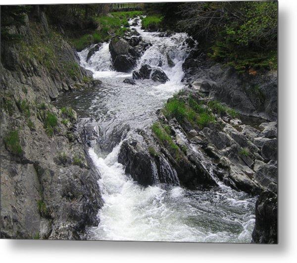 Rushing Waterfalls Metal Print by Allison Prior