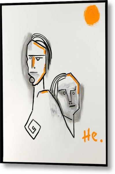 Rushmore 40x30 Metal Print