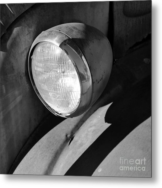 Rust And Chrome II Metal Print