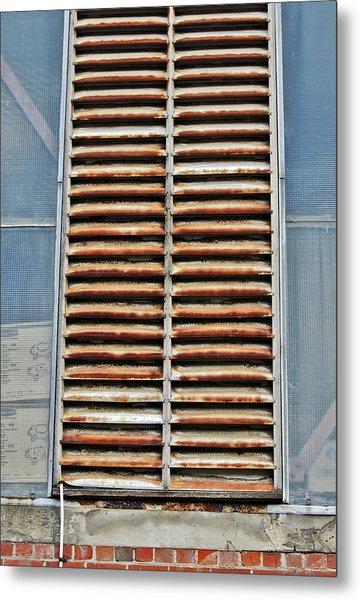 Rusted Shut Metal Print