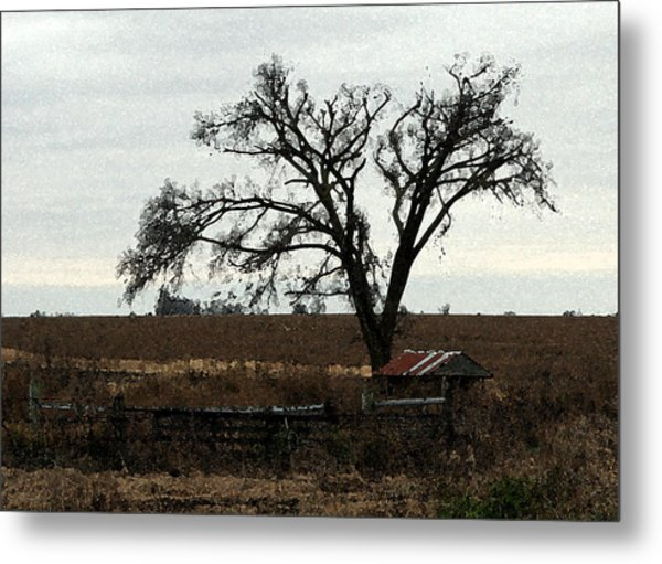 Rustic Metal Print by Rodger Mansfield