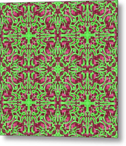 S A T - Multi Pattern Metal Print