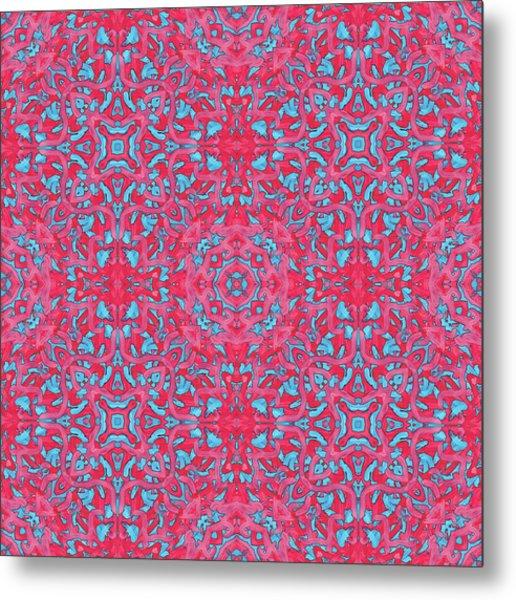 S U N - Multi Pattern Metal Print