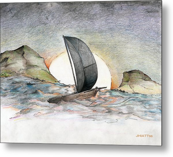 Sail Away Metal Print