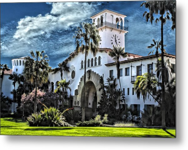 Santa Barbara Courthouse Metal Print
